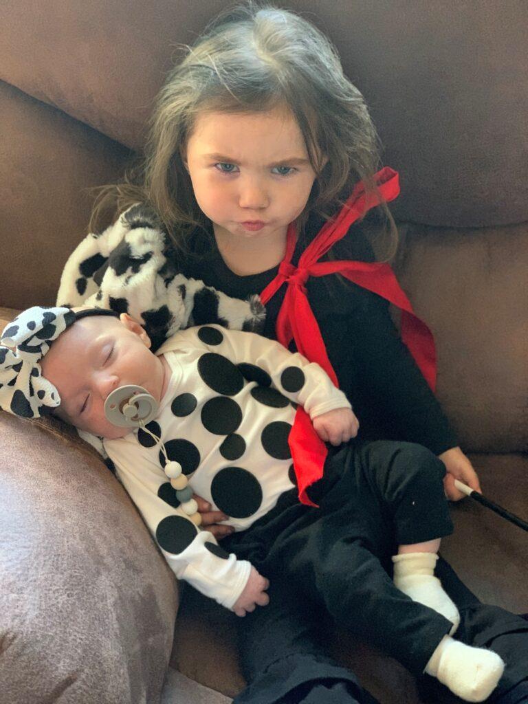 Cruella deVil & a Dalmation