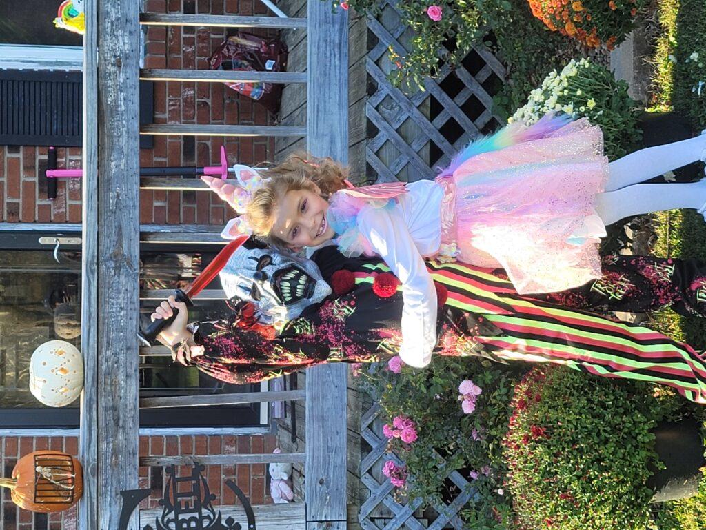 A Killer Clown & Unicorn