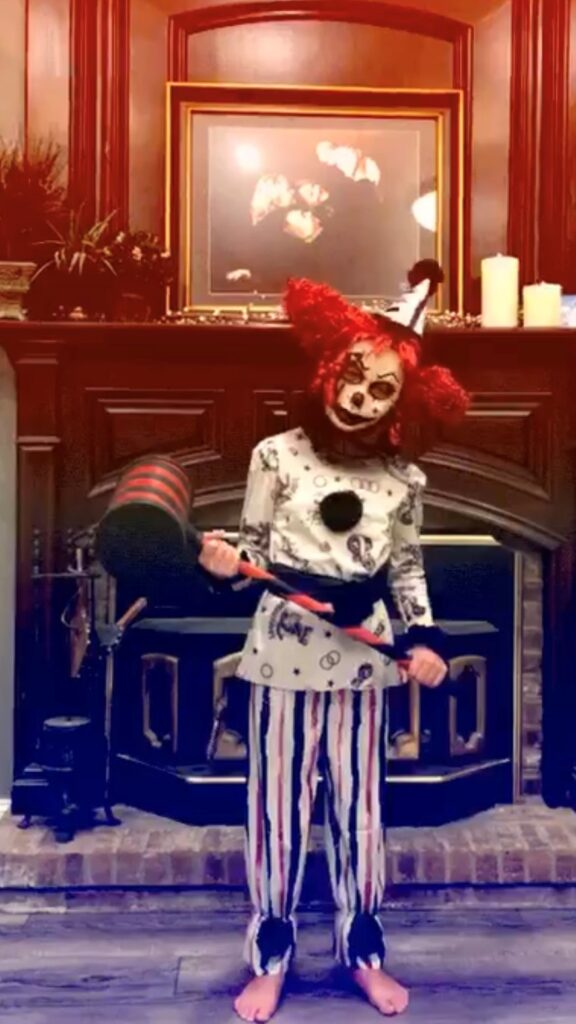 Circus Clown & Mallet