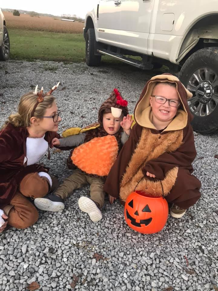 A Deer, A Turkey and a Bear walk into the forest...