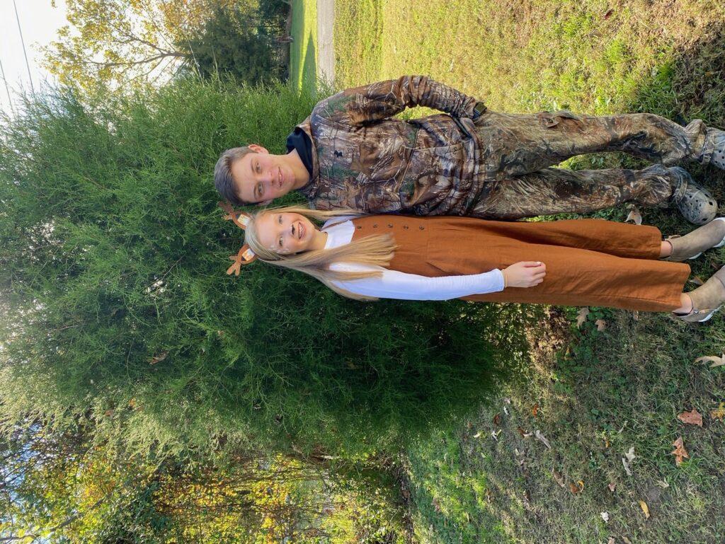 Deer & Hunter